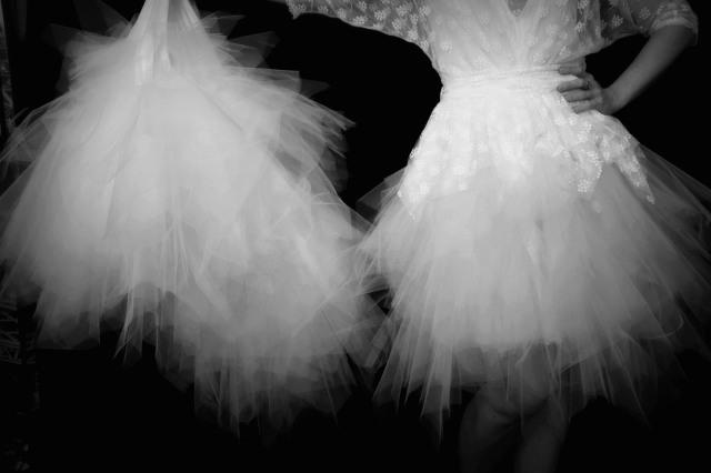 Robes de mariée création Itakoé Pézenas.